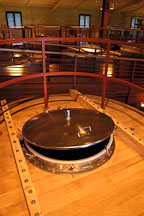 Oak fermentation tanks. Napa Valley, California. - Photo #1363