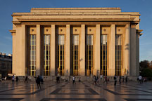Palais de Chaillot at the Trocadero. Paris, France. - Photo #30863