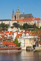 Prague castle and Hradcany. Prague, Czech Republic. - Photo #29964