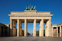 Brandenburg Gate. Berlin, Germany. - Photo #30465