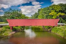 Hogback bridge. Madison County, Iowa. - Photo #32965