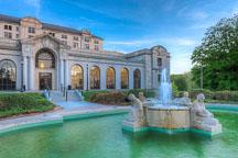 Memorial Union fountain. Iowa State University. - Photo #32865