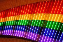 Neon rainbow. Las Vegas, Nevada, USA. - Photo #13765