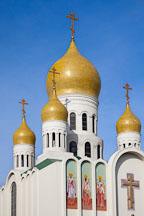 Russian orthodox Holy Virgin Cathedral. San Francisco, California. - Photo #24465