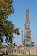 Watts Towers. Watts, Los Angeles, California, USA. - Photo #6865
