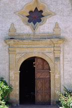 Doors to the Carmel Mission, San Carlos Borromeo de Carmelo, Carmel, California, USA. - Photo #266