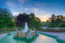 Fountain of the four seasons. Iowa State University. - Photo #32866