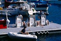 Gas station for boats. Avalon, Catalina Island, California. - Photo #566