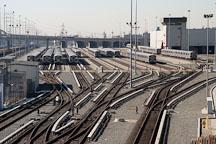 Train depot. Los Angeles, California, USA. - Photo #8566