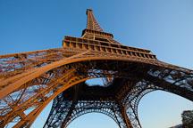 Underneath the Eiffel Tower. Paris, France. - Photo #31966