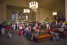 Inside the railway station. Helsinki, Finland. - Photo #467