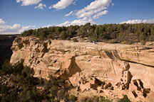 Navajo Canyon and Square Tower House. Mesa Verde NP, Colorado. - Photo #18667