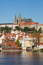 Prague castle and Hradcany. Prague, Czech Republic. - Photo #29967