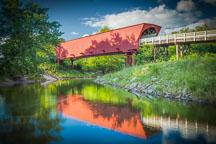 Roseman Bridge. Madison County, Iowa. - Photo #32967