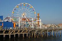 Ferris wheel, Santa Monica Pier. Santa Monica, California, USA. - Photo #8268
