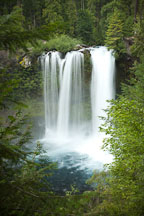 Koosah Falls, Oregon. - Photo #27968