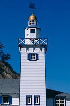 Miniature lighthouse. Avalon, Catalina Island, California. - Photo #568