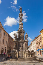 Plague column. Kutna Hora, Czech Republic - Photo #29868