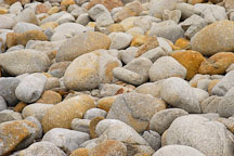 Rocks on the shoreline of 17-Mile drive, California, USA. - Photo #4768