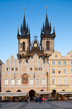 Tyn Church. Prague, Czech Republic. - Photo #30068