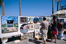 Art fair. Avalon, Catalina Island, California. - Photo #569