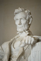 Abraham Lincoln. Lincoln Memorial, Washington, D.C., USA. - Photo #12669