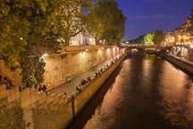 Seine river walkway. - Photo #31369