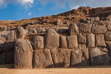 The walls at Sacsayhuaman. Peru. - Photo #9569