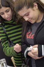 A young girl adopts a pet rat. The Wonderful World of Rats, San Mateo, California, USA. - Photo #5999