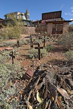 Graveyard. Goldfield, Phoenix, Arizona, USA. - Photo #5532