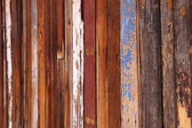 Wooden wall. Tortilla Flat, Arizona, USA. - Photo #5624