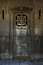Mausoleum door. Pere Lachaise cemetery, Paris, France. - Photo #31407