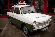 Trabant police car. Berlin, Germany - Photo #30307
