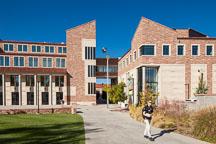Visual Arts Complex, CU Boulder. - Photo #33107