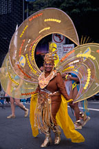 Woman with winged costume. Carnaval, San Francisco. - Photo #1107