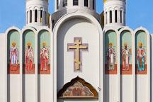 Facade of the Russian orthodox church. San Francisco, California. - Photo #24470