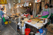 Food stall. Hong Kong, China. - Photo #15470