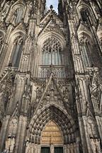 Front of the Koln Cathedral. Koln, Germany. - Photo #30670