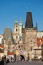 Little Quarter Bridge Towers. Prague, Czech Republic. - Photo #29970