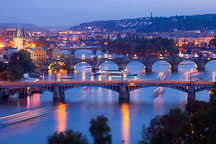 Prague bridges. Czech Republic. - Photo #30270
