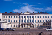 Presidential Palace, Presidentin Linna. Helsinki, Finland. - Photo #370