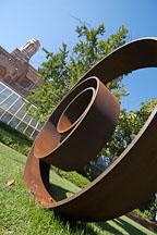 Sculpture. University of California, Los Angeles, California, USA. - Photo #6371