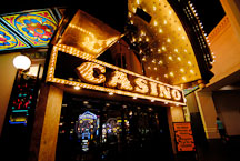 Casino entrance and sign. Las Vegas, Nevada, USA. - Photo #13371