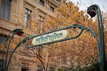 Paris Metropolitain sign. - Photo #31572