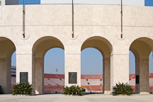 Los Angeles Memorial Coliseum. Exposition park, Los Angeles, California, USA. - Photo #6773
