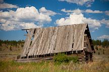 Dilapidated barn. Whitney, Oregon. - Photo #27774