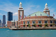 Grand ballroom at the Navy Pier. Chicago, Illinois, USA. - Photo #10774