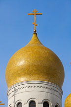 Onion dome of the Russian orthodox Cathedral. San Francisco, California. - Photo #24474