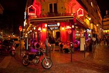 Restaurant in the Latin Quarter. Paris, France. - Photo #31374