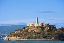 The Rock, Alcatraz Island. San Francisco Bay, California. - Photo #28874